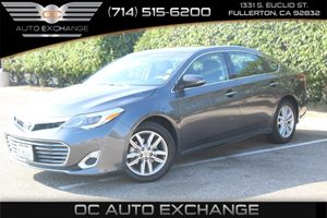 2015 Toyota Avalon XLE Carfax 1-Owner - No AccidentsDamage Reported  Cosmic Gray Mica  We are