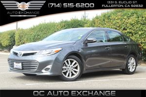 2015 Toyota Avalon XLE Carfax 1-Owner - No AccidentsDamage Reported  Cosmic Gray Mica  Gobble