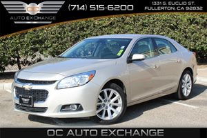 2015 Chevrolet Malibu LTZ Carfax 1-Owner  Champagne Silver Metallic  YouGre going to need a