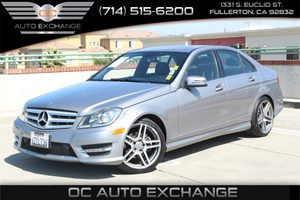 2013 MERCEDES C-Class Luxury Sedan Carfax Report - No AccidentsDamage Reported  Gray  We are