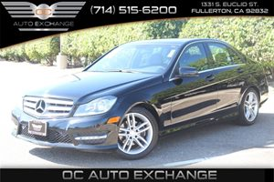 2014 MERCEDES C-Class Luxury Sedan Carfax 1-Owner  Black  We are not responsible for typograph