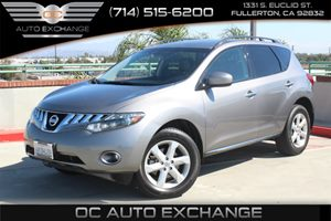 2010 Nissan Murano SL Carfax 1-Owner - No AccidentsDamage Reported  Gray  We are not responsi
