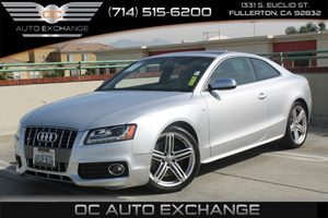 2010 Audi S5 Premium Plus Carfax 1-Owner - No AccidentsDamage Reported  Ice Silver Metallic