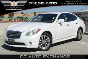 2012 Infiniti M37  Carfax Report - No AccidentsDamage Reported  Moonlight White  We are not r