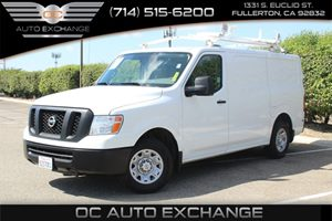 2013 Nissan NV S Carfax 1-Owner - No AccidentsDamage Reported  Glacier White  YouGre going