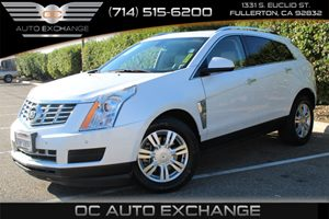 2013 Cadillac SRX Luxury Collection Carfax 1-Owner - No AccidentsDamage Reported  White  We a