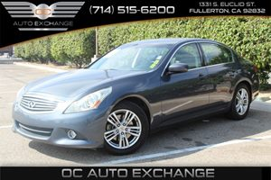 2010 Infiniti G37 Sedan Journey Carfax Report - No AccidentsDamage Reported  Dk Blue  We are