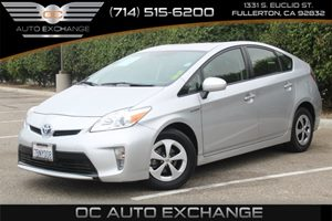2013 Toyota Prius Two Carfax 1-Owner - No AccidentsDamage Reported  Classic Silver Metallic