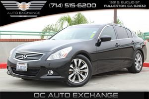 2011 Infiniti G37 Sedan Journey Carfax Report - No AccidentsDamage Reported  Black Obsidian 2