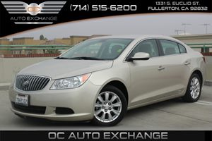 2013 Buick LaCrosse Base Carfax 1-Owner - No AccidentsDamage Reported  Gold  We are not respo