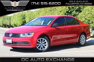 2015 Volkswagen Jetta Sedan 20L S wTechnology Carfax 1-Owner - No AccidentsDamage Reported