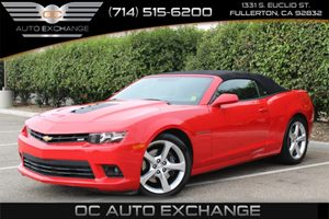 2015 Chevrolet Camaro SS Carfax 1-Owner - No AccidentsDamage Reported  Crystal Red Tintcoat