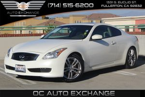 2008 Infiniti G37 Coupe Journey Carfax Report  White          16876 Per Month - On  Approved