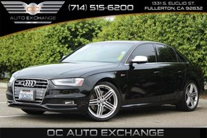 2013 Audi S4 Quattro Premium Plus Carfax 1-Owner - No AccidentsDamage Reported  Brilliant Blac