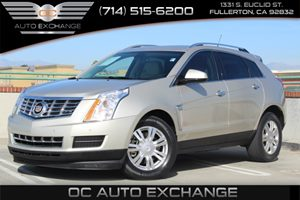 2013 Cadillac SRX Luxury Collection Carfax 1-Owner  Gold RADIANT SILVER METALLIC ON BEIGE 201