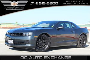 2015 Chevrolet Camaro LS Carfax 1-Owner - No AccidentsDamage Reported  Ashen Gray Metallic AS