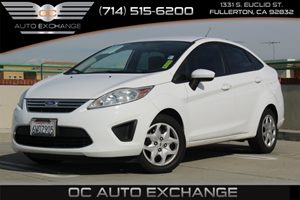 2012 Ford Fiesta SE Carfax Report - No AccidentsDamage Reported  Black 2012 FORD FIESTA SE-
