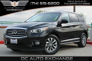 2013 Infiniti JX35 Base Carfax 1-Owner - No AccidentsDamage Reported  Black Obsidian  YouGr