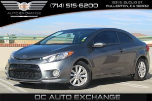 2014 Kia Forte Koup EX Carfax 1-Owner - No AccidentsDamage Reported  Gray  Gobble up extra sa
