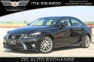 2014 Lexus IS 250 RWD Carfax 1-Owner  Black          31585 Per Month - On Approved Credit