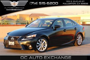 2015 Lexus IS 250 RWD Carfax 1-Owner  Black          29942 Per Month - On  Approved Credit