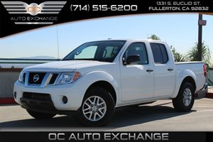 2016 Nissan Frontier SV Carfax 1-Owner  Glacier White  YouGre going to need a bigger stockin