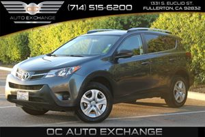 2015 Toyota RAV4 LE Carfax 1-Owner - No AccidentsDamage Reported  Magnetic Gray Metallic