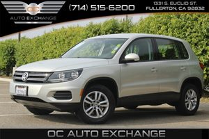 2013 Volkswagen Tiguan S Carfax 1-Owner  Reflex Silver Metallic  YouGre going to need a bigg