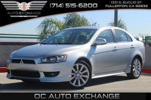 2008 Mitsubishi Lancer GTS Carfax 1-Owner  Apex Silver Metallic  We are not responsible for ty