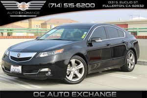 2013 Acura TL Advance Carfax 1-Owner  Crystal Black Pearl 2013 ACURA TL ADVANCE SEDAN-  BLAC