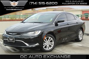 2016 Chrysler 200 Limited Carfax 1-Owner  Black Clearcoat  We are not responsible for typograp