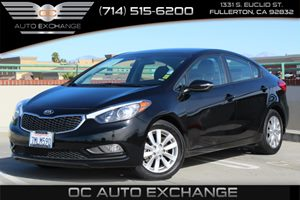 2016 Kia Forte LX Carfax 1-Owner  Aurora Black Pearl  We are not responsible for typographical