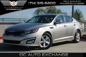 2015 Kia Optima LX Carfax 1-Owner - No AccidentsDamage Reported  Bright Silver  YouGre goin