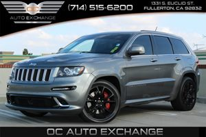 2013 Jeep Grand Cherokee SRT8 Carfax Report  Charcoal  We are not responsible for typographica