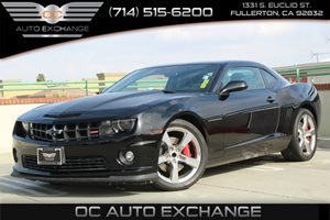 2013 Chevrolet Camaro SS Carfax 1-Owner  Black  YouGre going to need a bigger stocking Thei