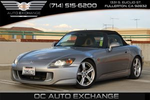 2005 Honda S2000  Carfax Report - No AccidentsDamage Reported  Sebring Silver Metallic  We ar