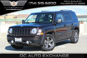 2014 Jeep Patriot High Altitude Carfax 1-Owner - No AccidentsDamage Reported  Rugged Brown Pea