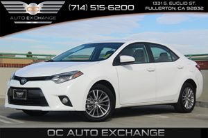 2015 Toyota Corolla LE Carfax 1-Owner - No AccidentsDamage Reported  Super White  YouGre go