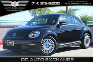 2013 Volkswagen Beetle Coupe 25L Carfax 1-Owner - No AccidentsDamage Reported  Black 2013 VO