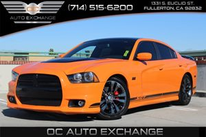 2014 Dodge Charger SRT8 Carfax 1-Owner  Header Orange Clearcoat HEADER ORANGE CLEARCOAT 2014 D