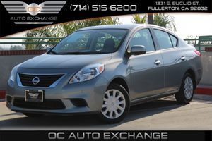 2014 Nissan Versa SV Carfax 1-Owner - No AccidentsDamage Reported  Magnetic Gray          13