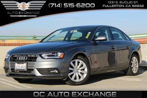 2013 Audi A4 20T Premium Carfax 1-Owner - No AccidentsDamage Reported  Monsoon Gray Metallic
