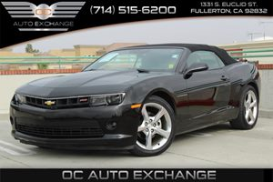 2014 Chevrolet Camaro LT Carfax 1-Owner - No AccidentsDamage Reported  Black          22504