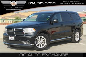 2014 Dodge Durango SXT Carfax 1-Owner - No AccidentsDamage Reported  Brilliant Black Crystal P
