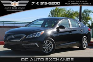 2015 Hyundai Sonata 24L SE Carfax 1-Owner - No AccidentsDamage Reported  Phantom Black -201