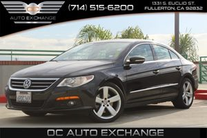 2011 Volkswagen CC Lux Carfax Report - No AccidentsDamage Reported  Deep Black Metallic  YouG