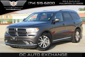 2015 Dodge Durango Limited Carfax 1-Owner - No AccidentsDamage Reported  Gray  Gobble up extr