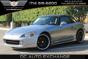2005 Honda S2000  Carfax Report  Sebring Silver Metallic  YouGre going to need a bigger stoc