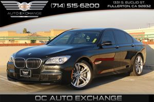 2014 BMW 7 Series 750i Carfax 1-Owner - No AccidentsDamage Reported  Azurite Black Metallic
