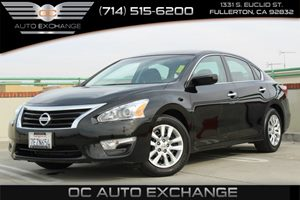 2014 Nissan Altima 25 S Carfax 1-Owner - No AccidentsDamage Reported  Super Black  YouGre